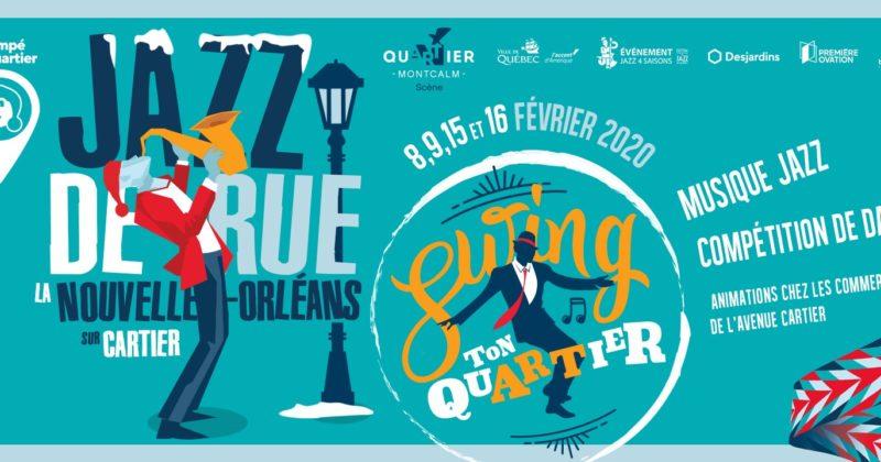 Jazz de rue, la Nouvelle-Orléans sur Cartier